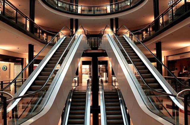 eskalátory obchodu
