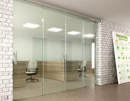 Sklenené dvere? Vynikajúci interiérový doplnok.